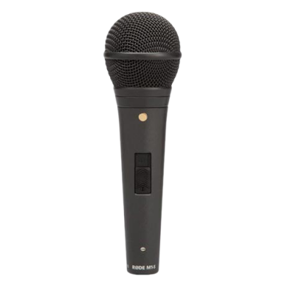 Rode M1-S - Dynamic Performance Microphone with Lockable Switch