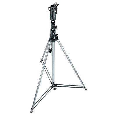 Manfrotto 3072 Tall Steel Cine Stand (Silver)