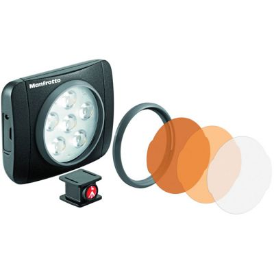 Manfrotto MLUMIEART-BK Lumie 6 (Art) LED Light with Accessories