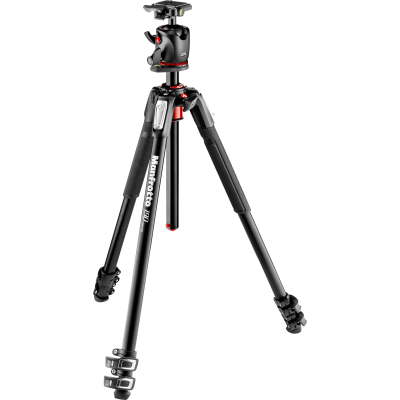 Manfrotto MK190XPRO3-BHQ2 190 Aluminum Tripod with Q2 Ball Head