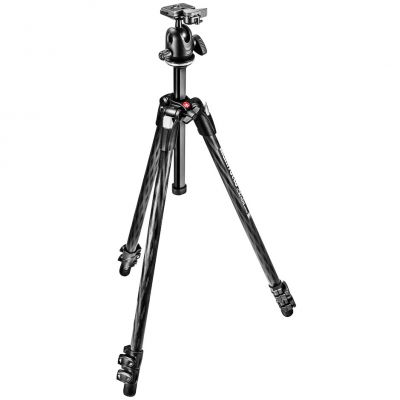 Manfrotto MK290XTC3-BH 3-Section Xtra Carbon Fiber Tripod with Ball Head