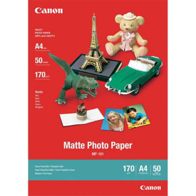 Canon MP-101 Matte Photo Paper (A4 - 50 Sheets)