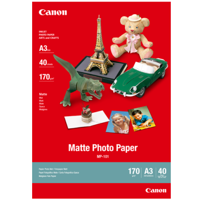 Canon MP-101 Matte Photo Paper (A3 - 40 Sheets)
