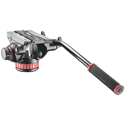 Manfrotto MVH502AH Pro Video Head Flat Base M-Size