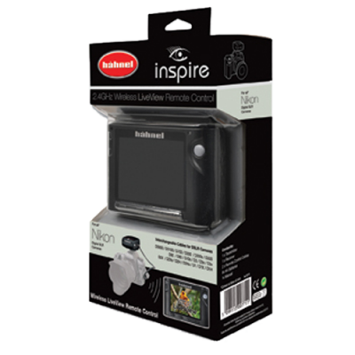 Hahnel Inspire Remote Control w/ LiveView Display for Nikon