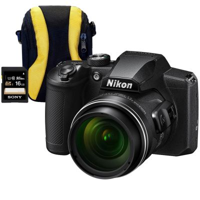 Nikon Coolpix B600 Digital Camera with Bag & 16GB SD Memory Card
