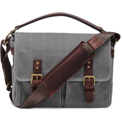USED ONA Prince Street Camera Messenger Bag (Smoke) - Rating 9/10 (S31103)