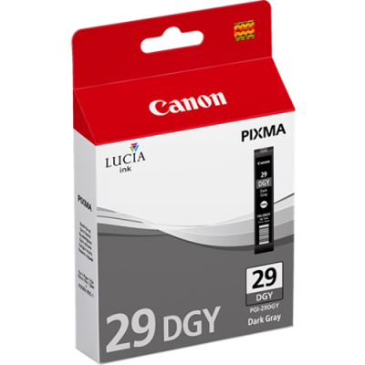 Canon PGI-29 DGY Dark Grey Ink Cartridge