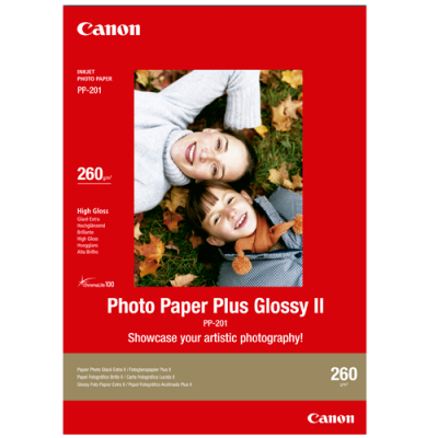 Canon PP201 Glossy Photo Paper (13 x 18cm - 20 Sheets)