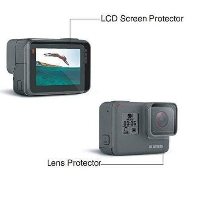 Xtreme Front & Rear Protective Lens Cover for GoPro HERO 7/6/5