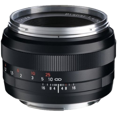 USED Zeiss Planar T* 50mm f/1.4 ZE Lens (Canon EF) - Rating 7/10 (S30361)