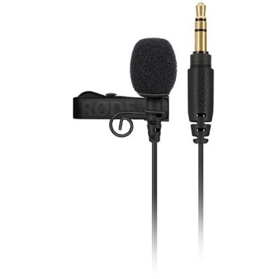Rode Lavalier GO Omnidirectional Lavalier Microphone for Wireless GO Systems (Black)