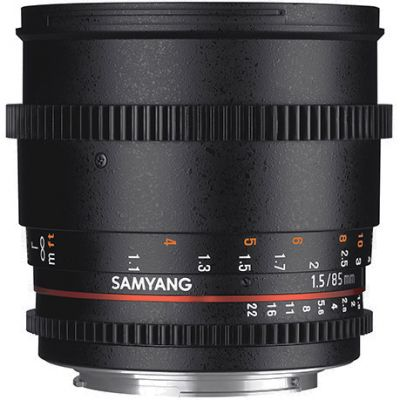 Samyang 85mm T1.5 AS IF UMC II Cine Lens (Full Frame Canon EF-Mount)