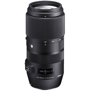 Sigma 100-400mm f/5-6.3 DG OS HSM Contemporary Lens (Canon EF)