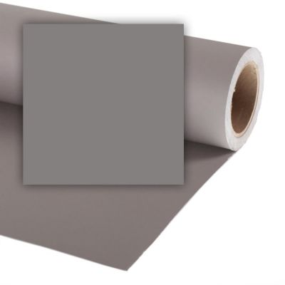 Colorama 1.35 x 11m Background Paper (Smoke Grey)