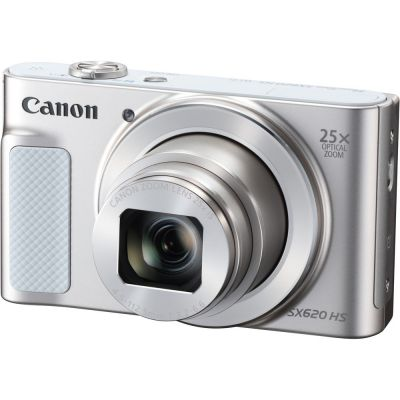 Refurbished Canon PowerShot SX620 HS Digital Camera (Silver) (CANR114)