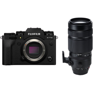 Fujifilm X-T4 Mirrorless Digital Camera with XF 100-400mm Lens (Black) (R8500 Cash Back with Fujifilm)