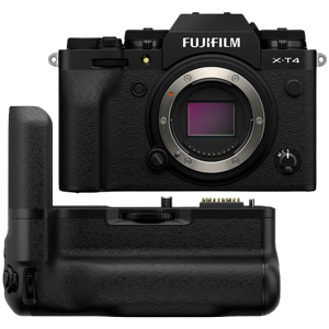 Fujifilm X-T4 Mirrorless Digital Camera with VG-XT4 Vertical Battery Grip (Black) (R3400 Cash Back with Fujifilm)