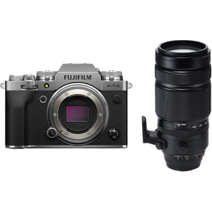 Fujifilm X-T4 Mirrorless Digital Camera With XF 100-400mm Lens (Silver) (R8500 Cash Back with Fujifilm)