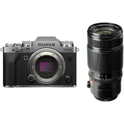 Fujifilm X-T4 Mirrorless Digital Camera with XF 50-140mm F2.8 Lens (Silver)  (R5100 Cash Back with Fujifilm)